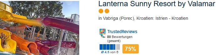 Das günstigste Hotel in Istren liegt in Vabriga
