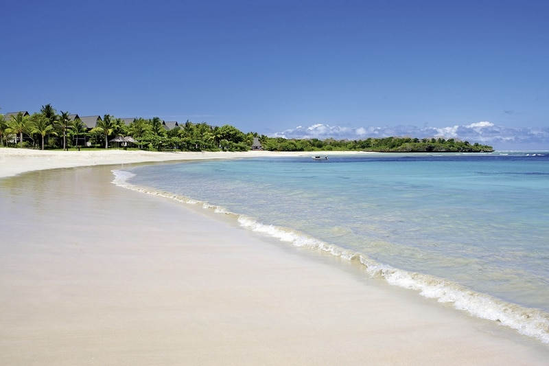 Der Strand am 5 Sterne Intercontinental Fiji golf Resort & Spa