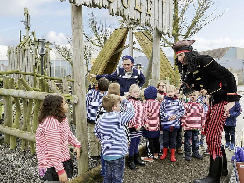 Die Kinder sind in Zandvoort im Ferien Park in Holland in besten Händen