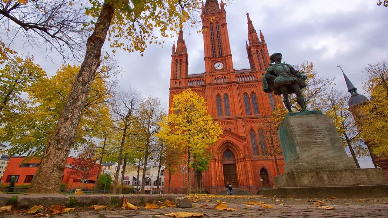 Die Marktkirche in der Hauptstadt Hessens