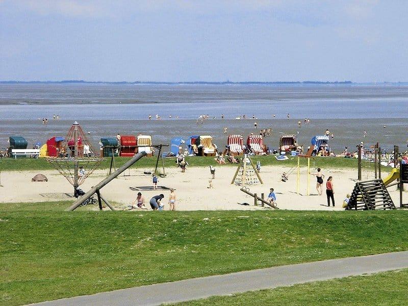 Direkte Strandlage bietet das Ferienpark