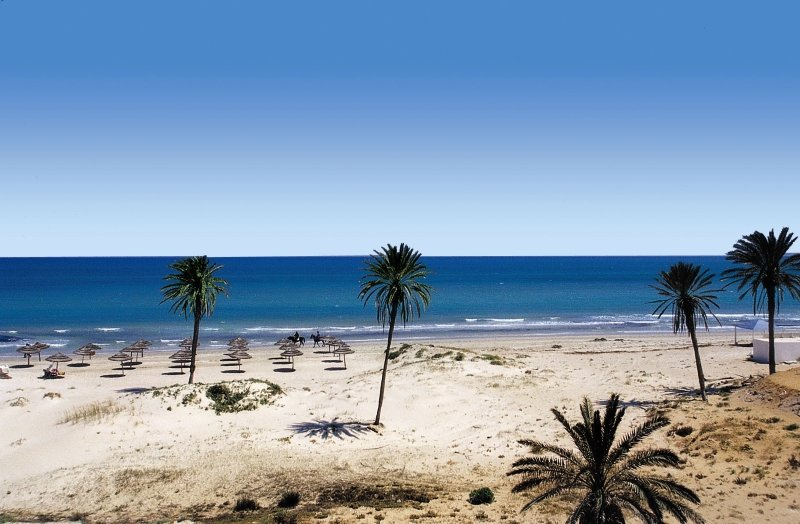 Djerba der Strand am Radisson Blu Palace Resort & Thalasso