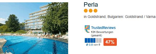 Drei Sterne Hotels reiche aus für Partyurlaub für Familien minimum 4,5