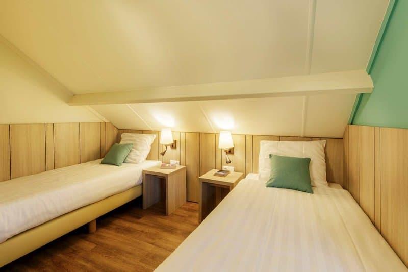 Ein Beispiel Schlafzimmer im Center Park Belgien