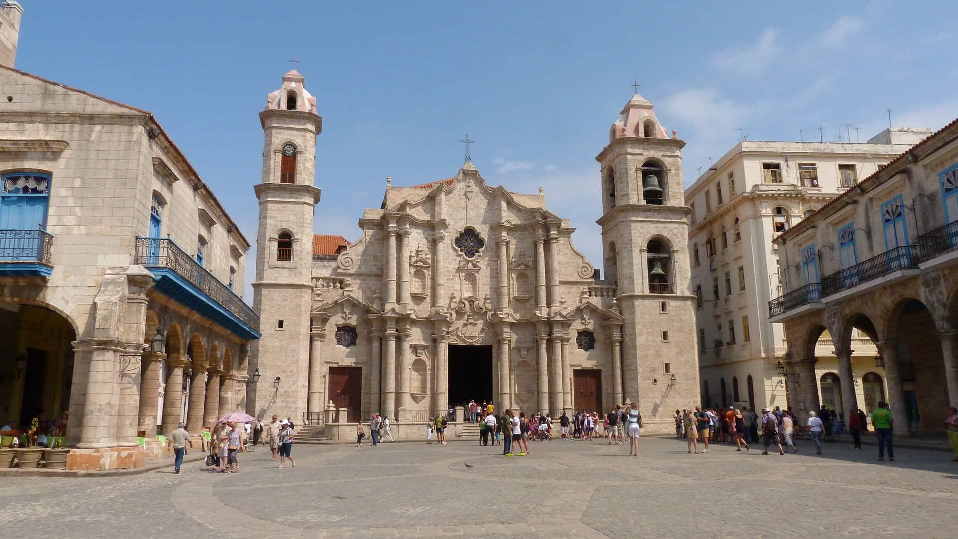 Einer der historischten Plätze Kubas Vieja