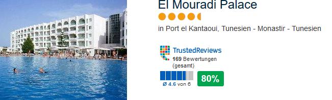 El Mouradi Palace in Monsatir meine Empfehlung