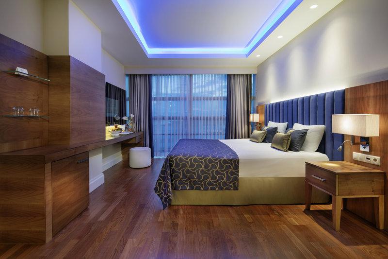 Fast alle 5 Sterne Hotels in der Türkei bieten solch exklusive Zimmer