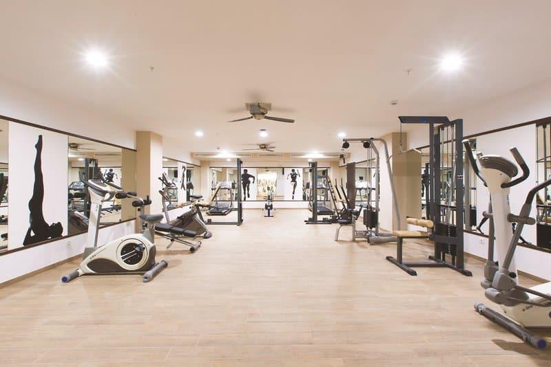 Fitnesstudio auf den Balearen im Riu Hotel