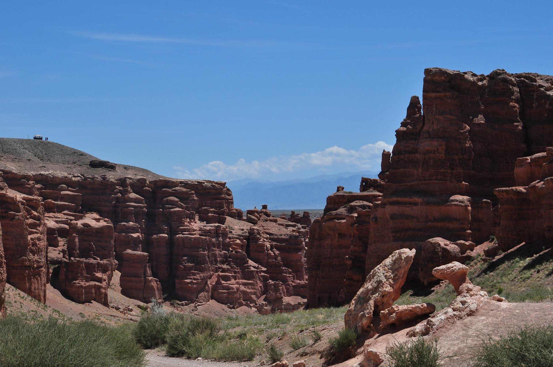 Flug Billig buchen nach Kasachstan und die Canyons in Asien entdecken