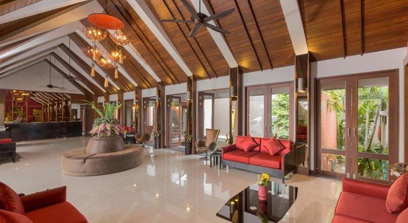 Foyer vom günstigen 5 Sterne Hotel