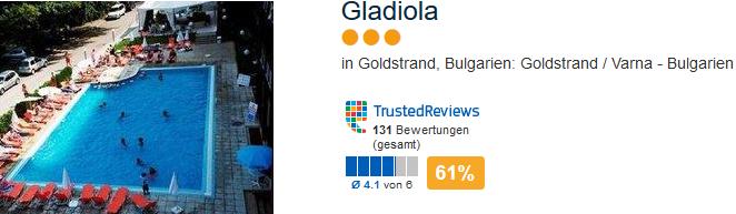 Gladiola Beispiel Hotel
