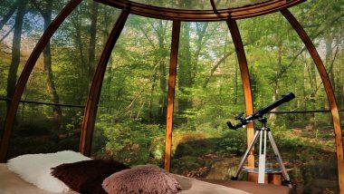 Glaskuppel Hotel ab 60,00€ in La Chapelle aux Bois Frankreich