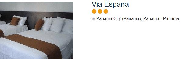 Günstiges drei Sterne Hotel in Panama - Städtereisen & Badeurlaub in Südamerika
