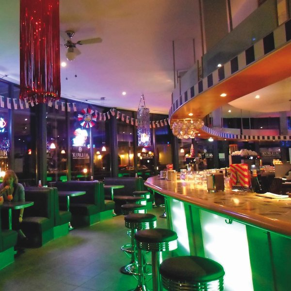 Hauseigene Bar im 3 Sterne Hotel