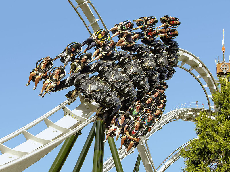 Heide Park mit Hotel ab 79,00€ Soltau Holiday Camp