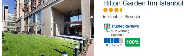 Hilton Garden Inn Istanbul Beyoglu meine Empfehlung