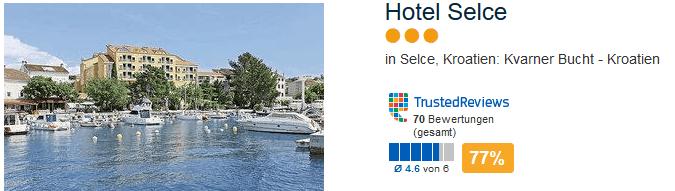 Hotel Selce drei Sterne