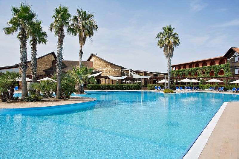 Hotelanlage- Poollandschaft