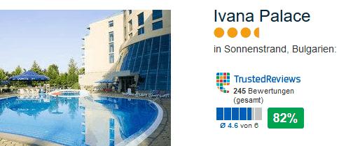 Ivana Palace 3,5-4 Sterne Hotel am Sonnenstrand