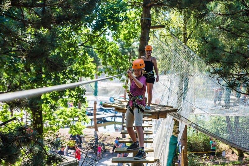 Kletterpark im außenbereich - Aktivitäten & Sport haben ein sehr großzügiges Angebot