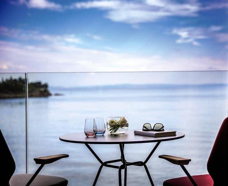 Luxusurlaub am beliebtesten Strandabschnitt für päärchen nin Kroatien