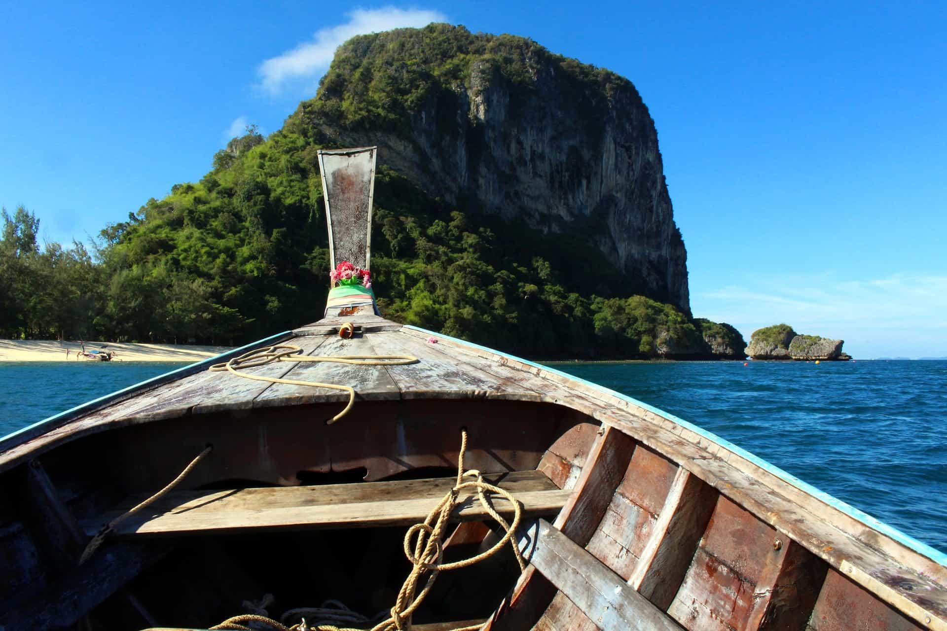 Mit den Booten kann man perfekt Insel Hopping machen