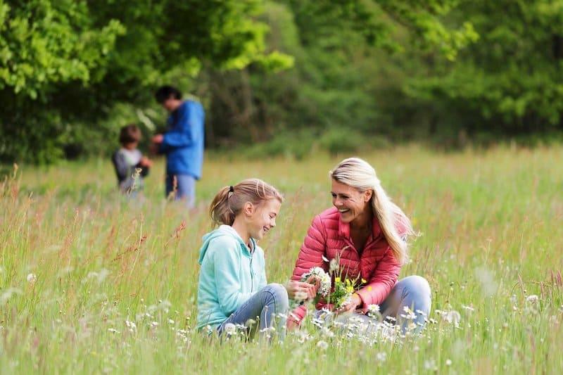 Mit den Kindern Urlaub machen in der europäischen Natur