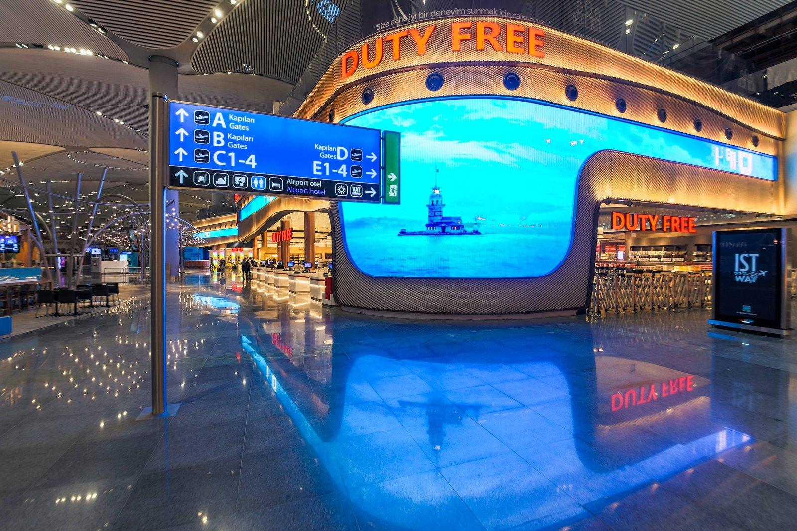 Neu Istanbul Flughafen ISL
