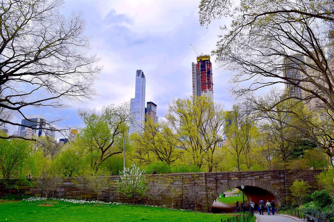 New York im Mai - Central Parc