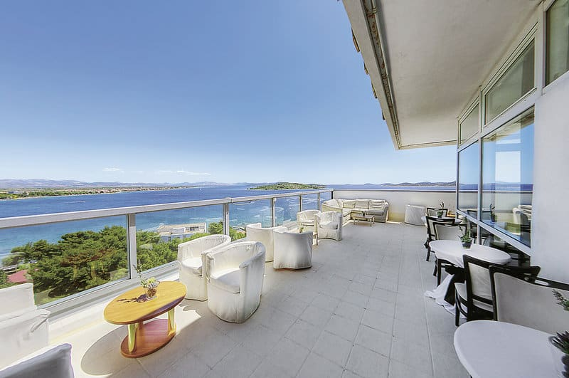 Norddalmatien Urlaub im 4 Sterne Hotel mit Vollpension