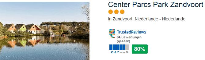 Park Zandvoort 3 Sterne Unterkunft direkt am Sandstrand