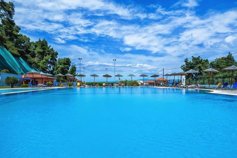 Poollandschaft Griechenland All Inclusive Urlaub