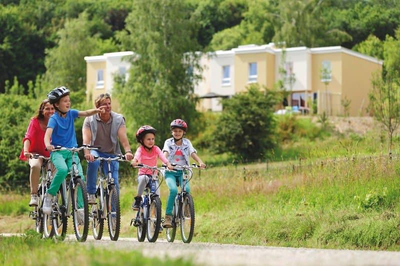 Rad Touren um den Bostalsee herum bieten sich perfekt an um die Umgebung in Wadern zu erkunden