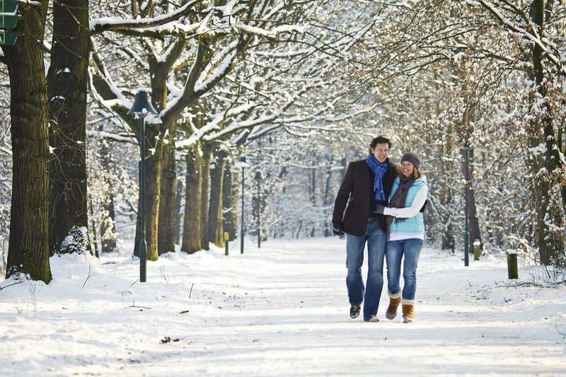 Ruhe suchenede päärchen können vorallem im Winter einen erholsamen Kururlaub hier verbringen