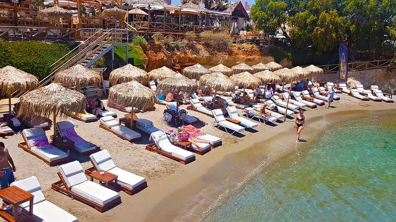 Sandstrand auf Kreta bei Chersonissos Super Last Minute