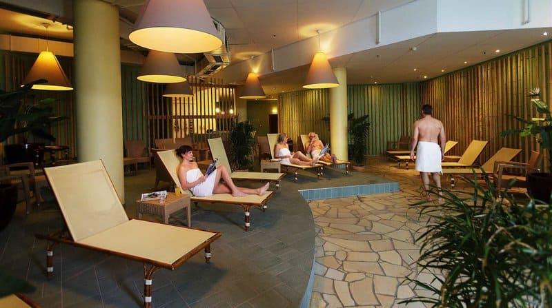 Sauna Bereich für päärchen und Freunde ein idealer Ort für einen Wellnessurlaub