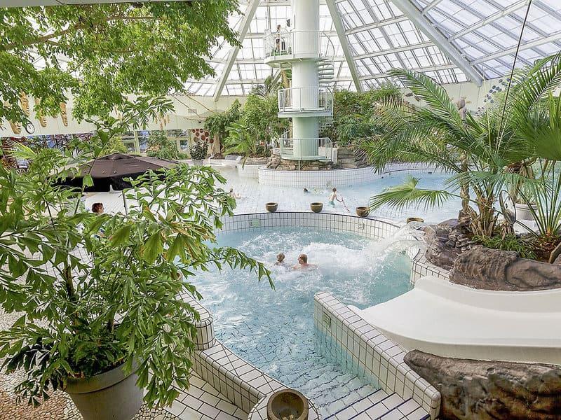 Schwimmbad im Center Parcs PArk Zandvoort
