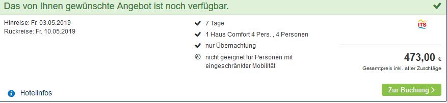 Screenshot Deal Center Park de Huttenheugte die Woche ab 118,25€ p.P Billig