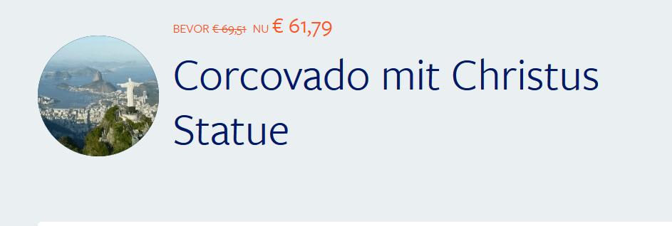 Screenshot Deal Corcovado ab 61,79€ Tagesrundreise durch den Regenwald