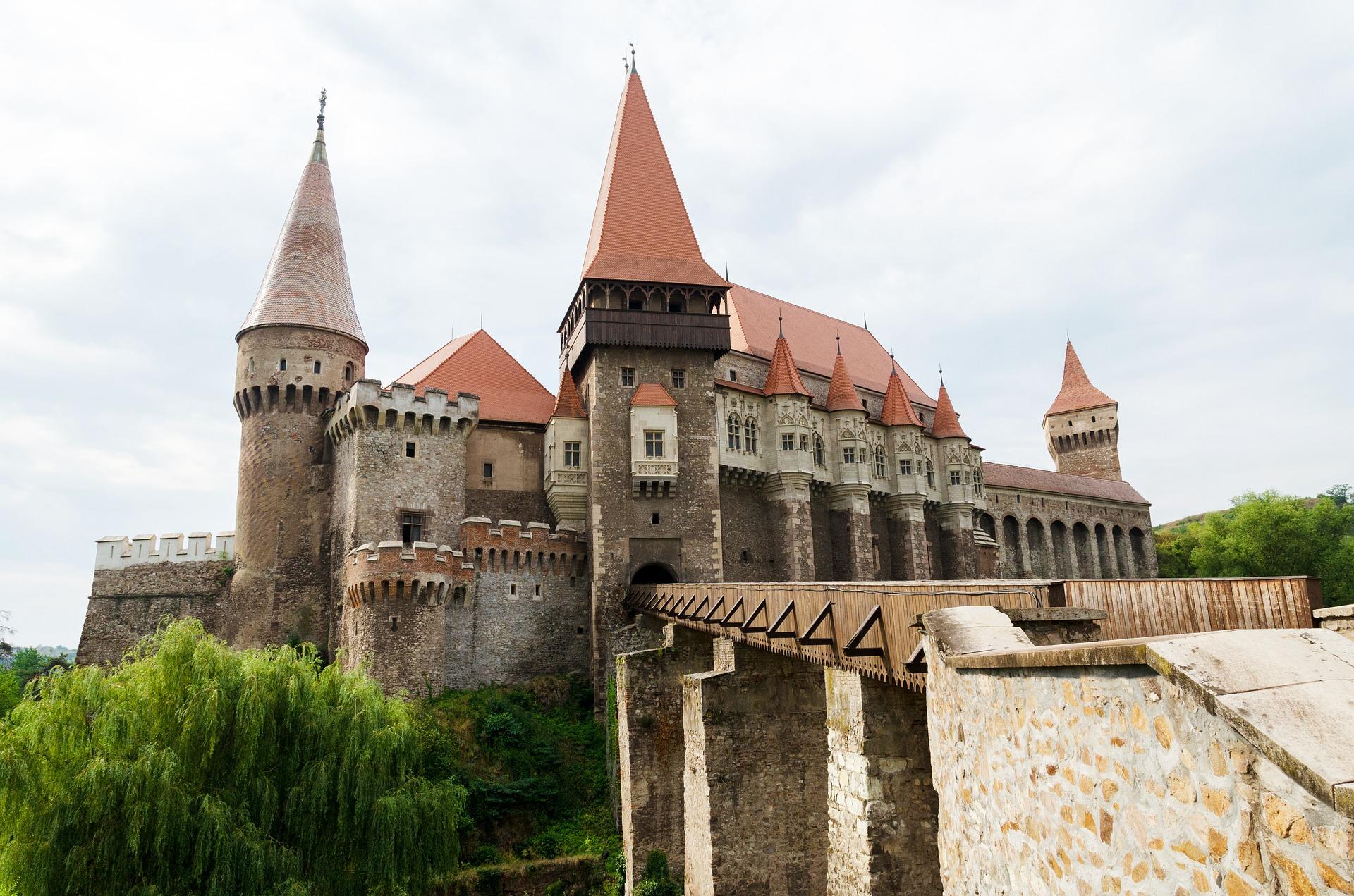 Sighisora das alte Schloß vom Fürsten Vlad der Dritte ( Dracula )