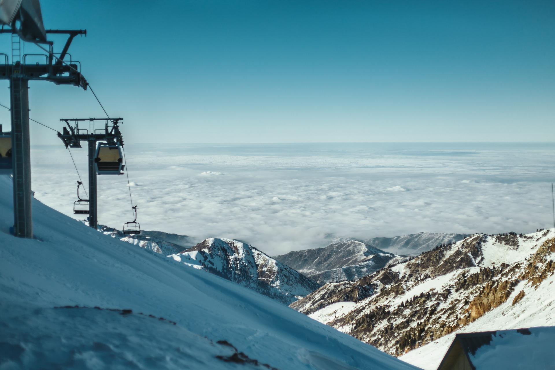 Skiurlaub in Kasachstan ist sehr günstig und vorallem für könner perfekt