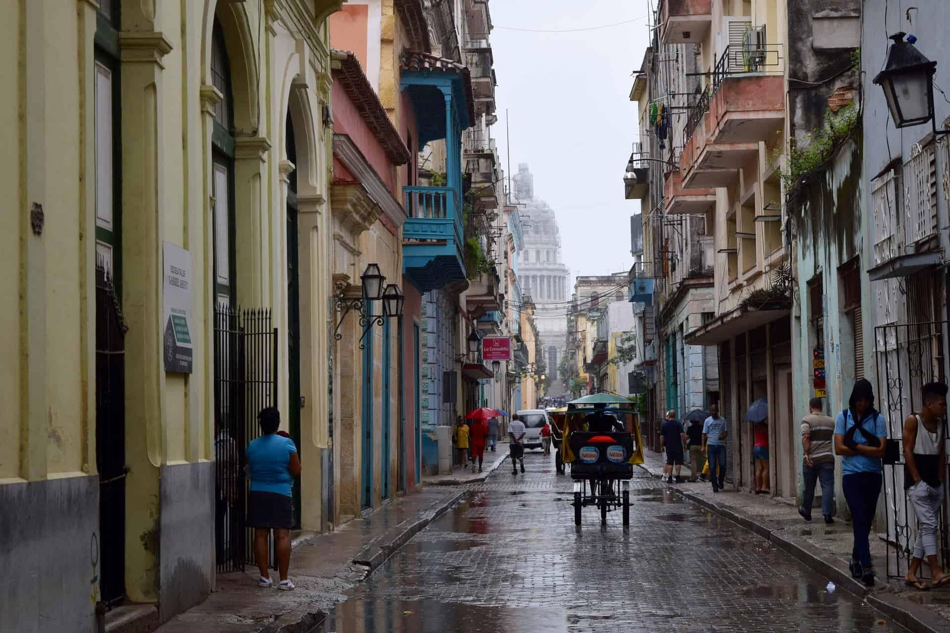 Stadtkern der Hauptstadt Kubas