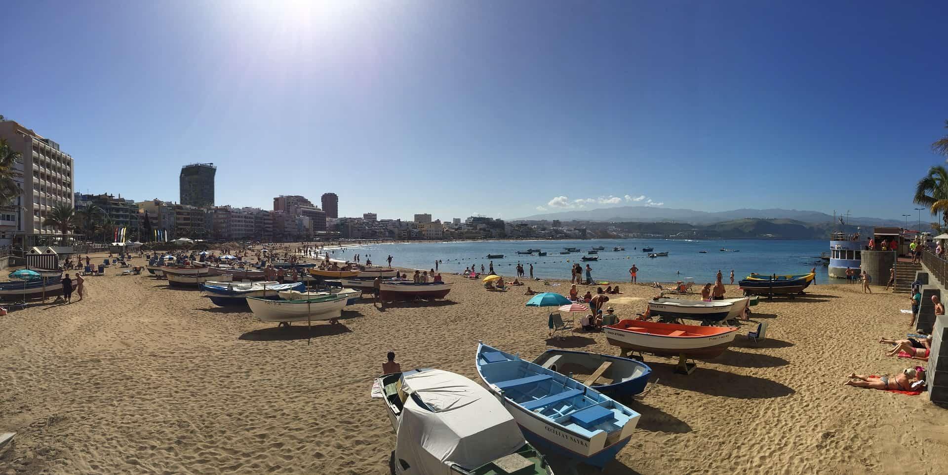 Stadtstrand Playa de las canteras