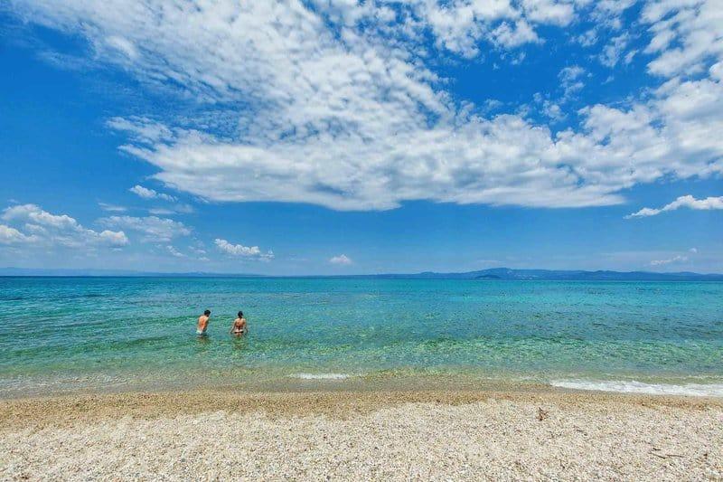 Strand bei Chalkidiki