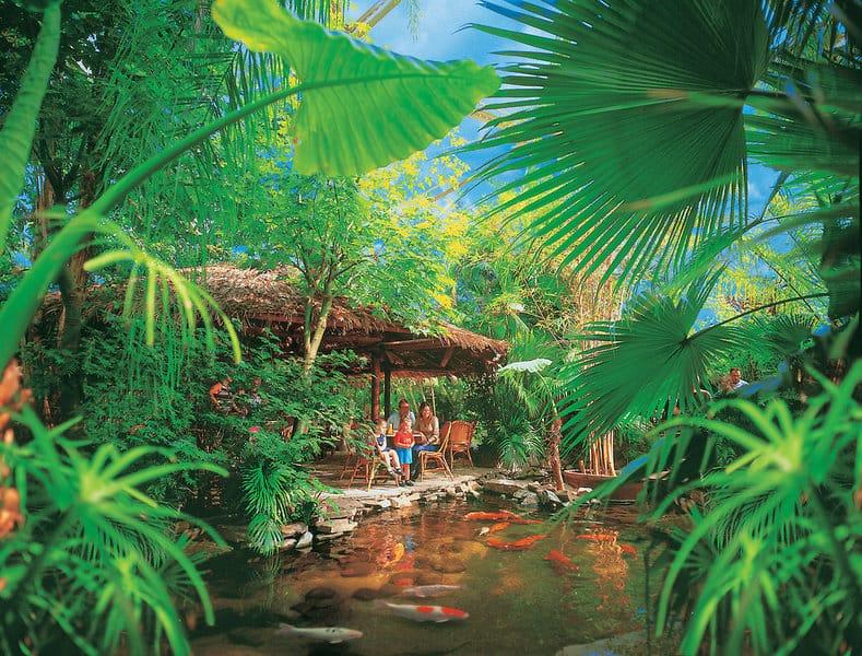 Tropisch gestaltet wurde De Kempervennen Center Park