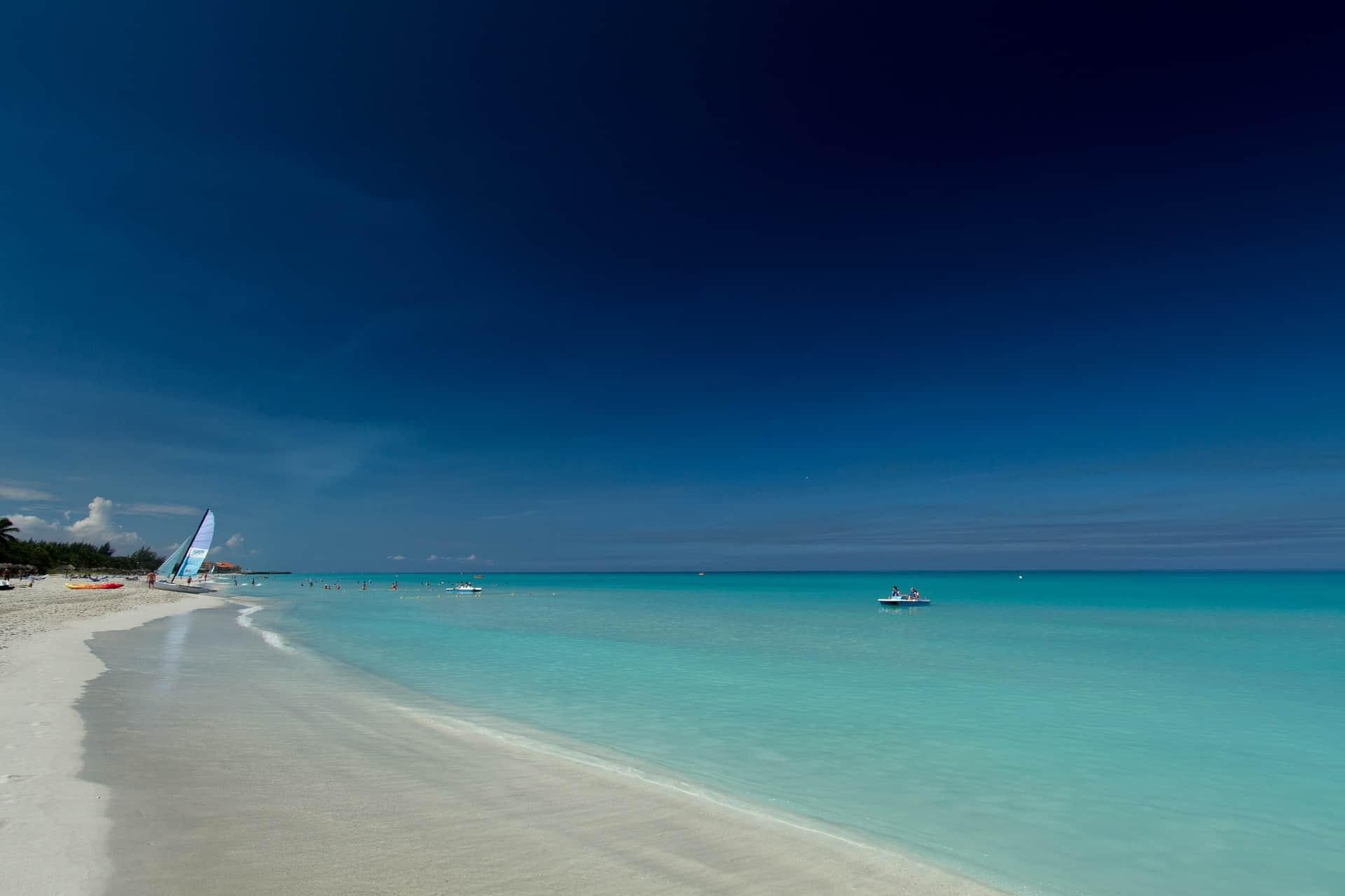 Varadero kubanischer Urlaubstraum von hier aus kann man auf die Insel Cayo Blanco einen Tagesausflug planen