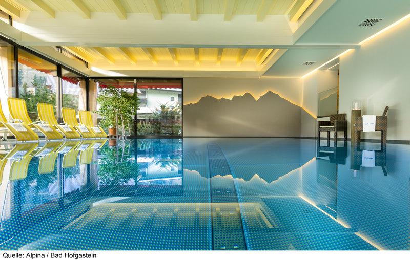 Wellnessbereich vom Hotel Alpina