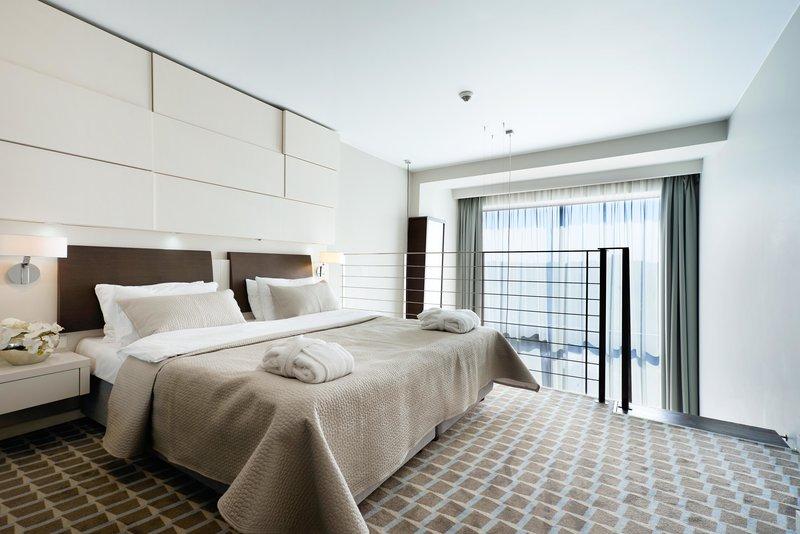 Wellnessurlaub im Marine Hotel Kolberg Beispiel für das Schlafzimmer