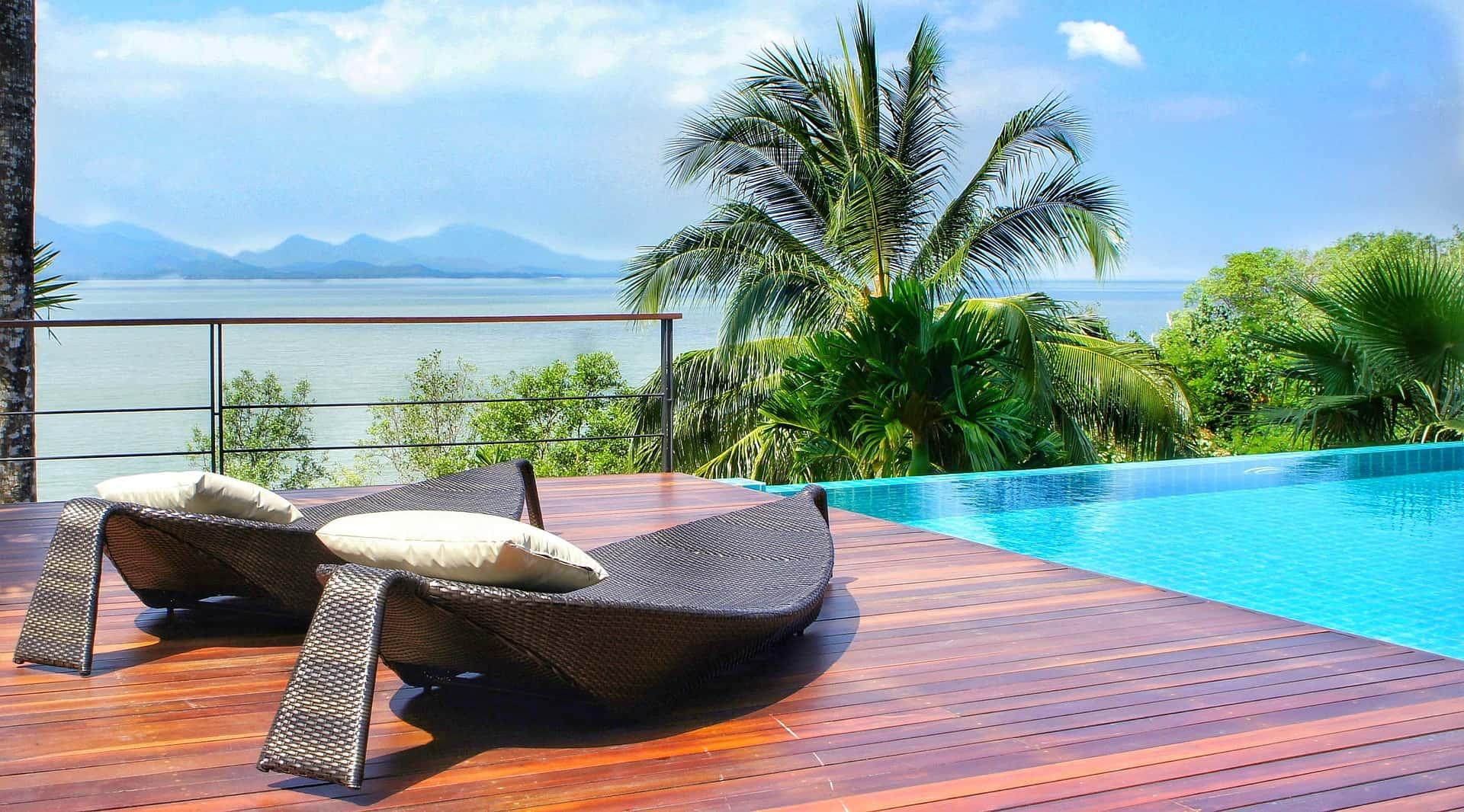 Wenn Ihr in Thailand seid empfehle ich aufjedenfall mal einmal in einem 5-6 Sterne Resort auf einer Insel zu schlafen