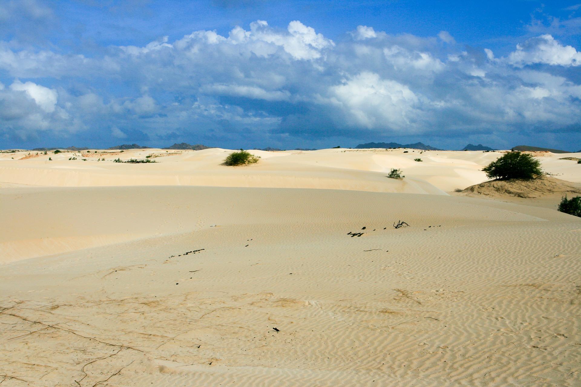 Wüste auf den Kapverdischen Inseln - Boa Vista